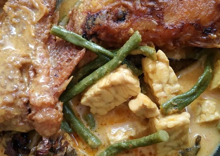 Cara Gampang Membuat Gulai ikan nila dengan tempe dan kacang panjang Anti Gagal