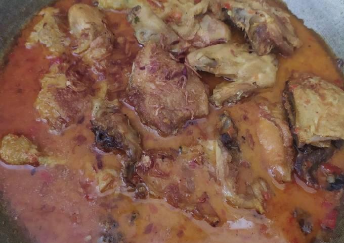 Gulai Ayam pedas