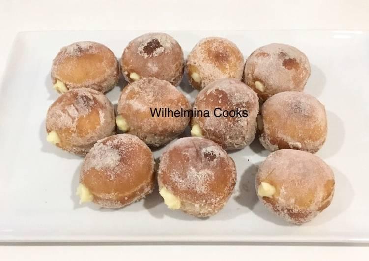 BOMBOLINI (Italian Donuts with Vanilla Pastry Cream)??
