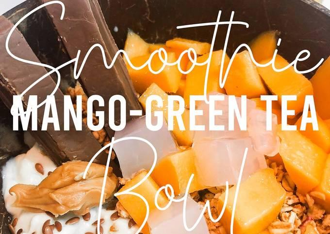 Fitness Recipes: Mango Green Tea Smoothie Bowl Recipe