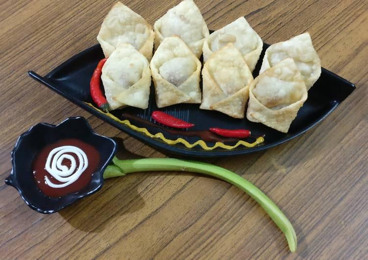 Recipe of Award-winning Fried veg wonton