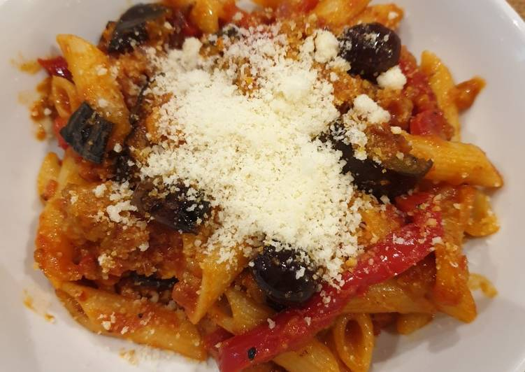 Sicilian-style penne caponata, Heart Friendly Foods You Should Eat