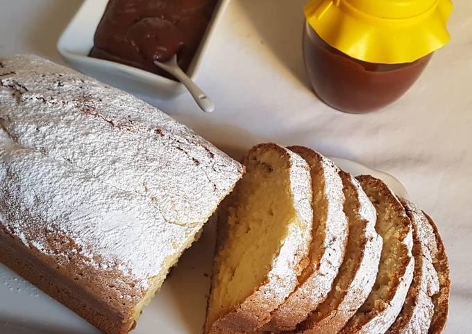 Cake à la vanille