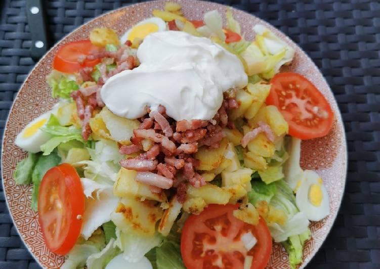 Salade vosgienne Gourmande 😋😋