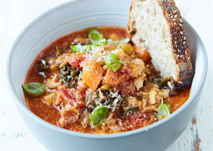 Simple Way to Prepare Homemade Minestrone Soup