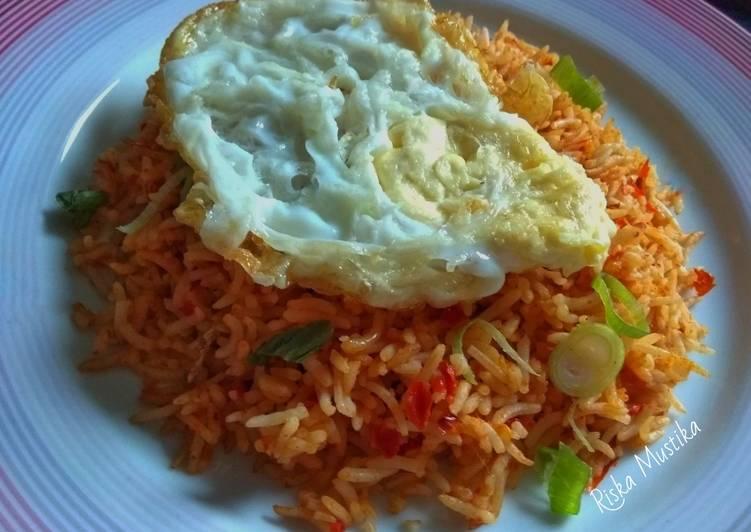 Recipe of Award-winning Nasi Goreng (Indonesian stir fried rice)