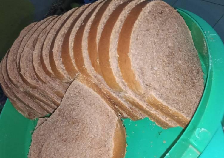 Roti tawar coklat
