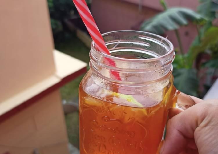 30 Minute Simple Way to Prepare Homemade Lemon Cinnamon Tea