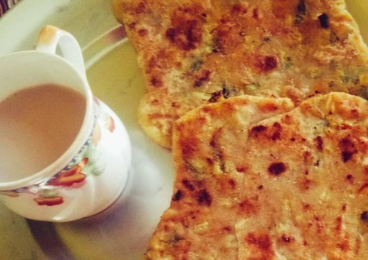 Recipe of Award-winning Cauliflower stuffed Paratha