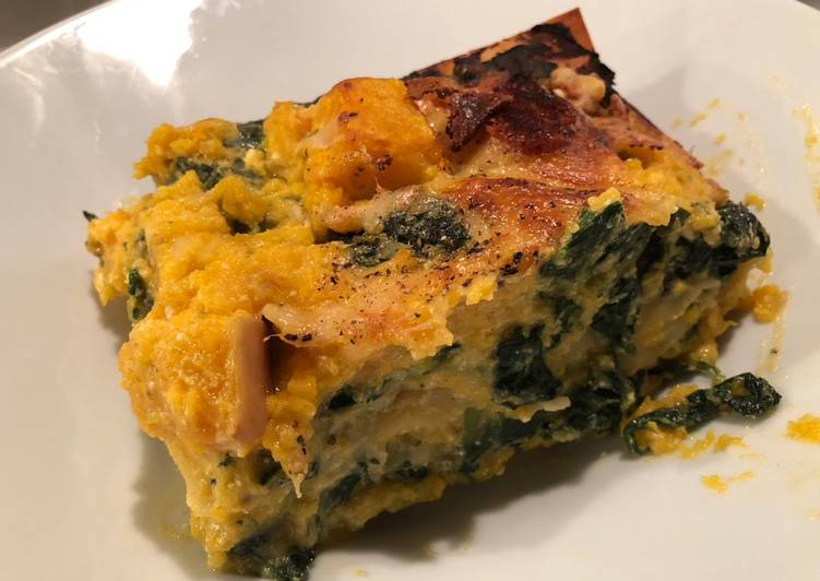 How to Prepare Perfect Spinach, Ricotta & Butternut Squash Lasagne