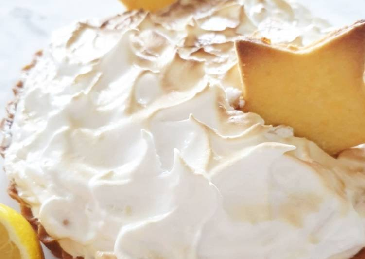 Ricetta Torta al Limone🍋 Pie de Limon