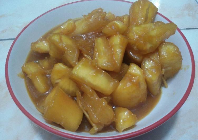 Resep Singkong Rebus Gula Jawa Oleh Happy Tummy Kitchens Cookpad
