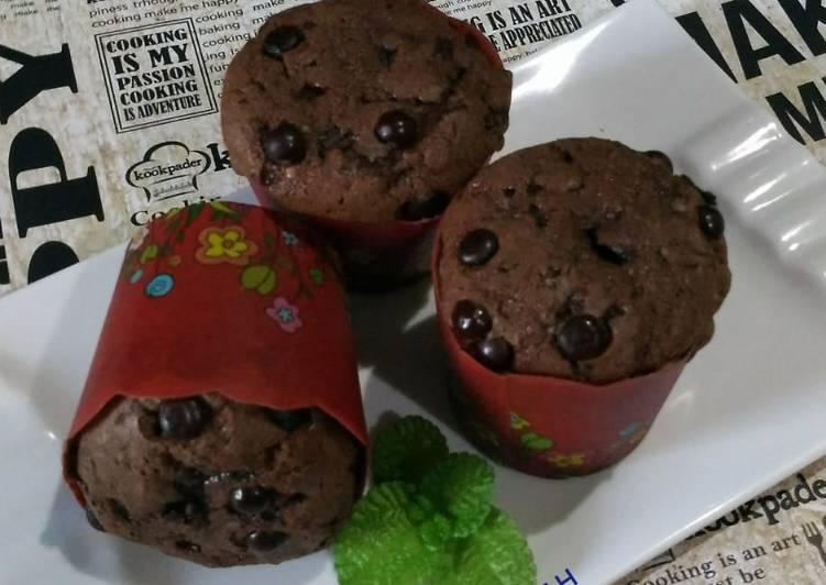 Muffin Chocolate Chocochips
