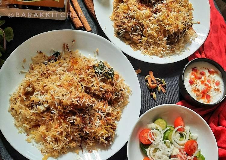 15 Minute Steps to Prepare Love Chicken Dum Biryani