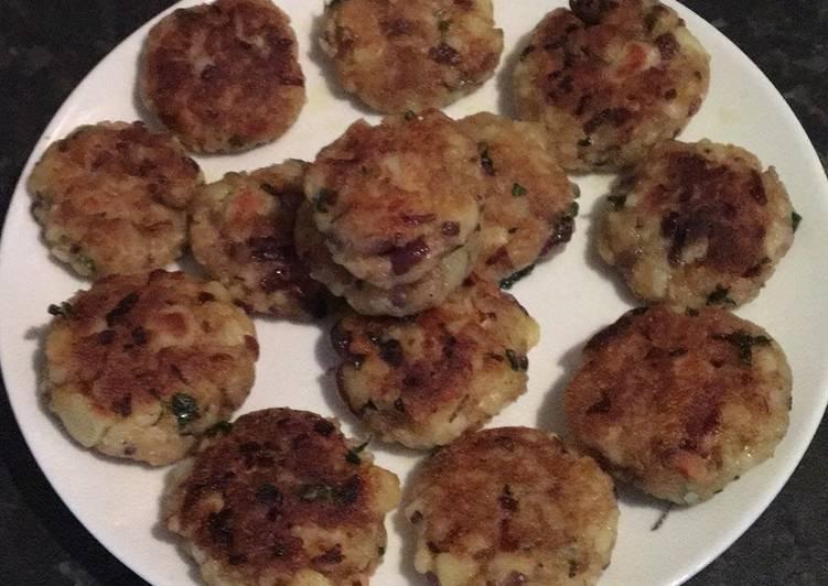 Recipe of Any-night-of-the-week Potato tikki