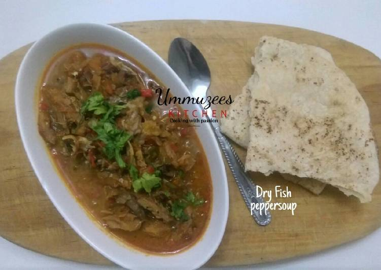 Recipe of Ultimate Dry Fish(Busasshen Kifi)Peppersoup