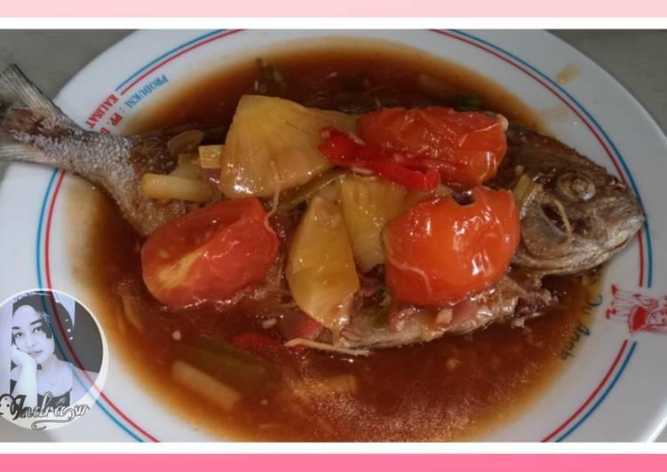Ikan dorang asam manis