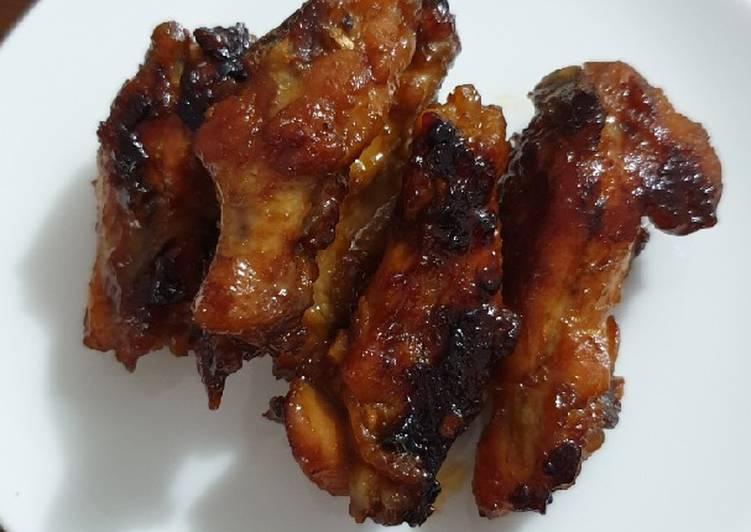 Spicy Chicken Wings a la Pizza Hut
