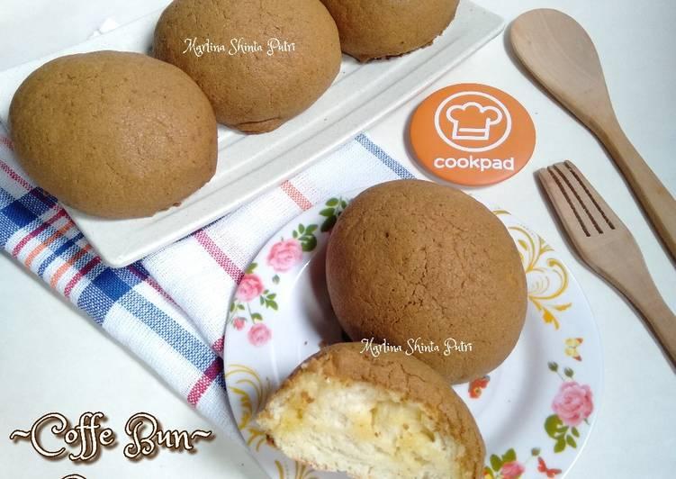 Coffe Bun atau Roti O tanpa telur
