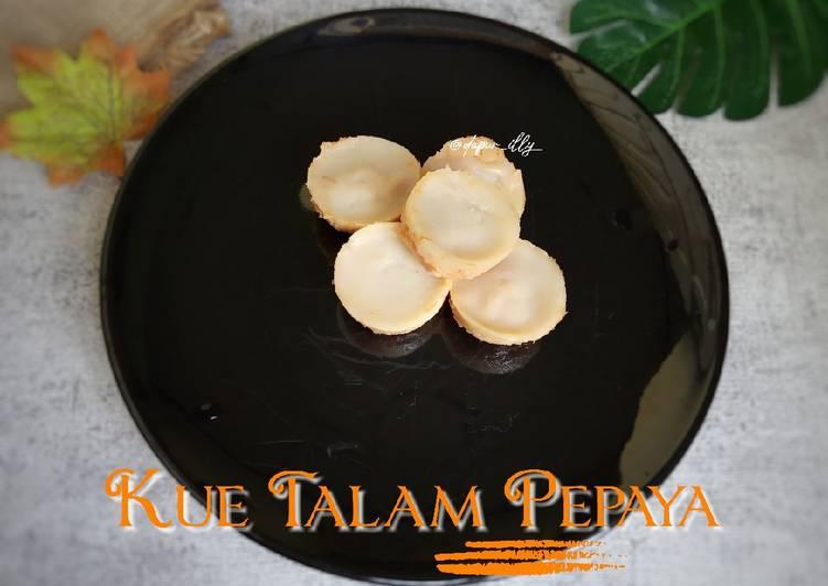 Kue Talam Pepaya