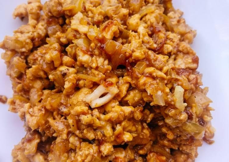 Resep Filling Roti/Bakpao: Bakso Ayam Bikin Jadi Laper