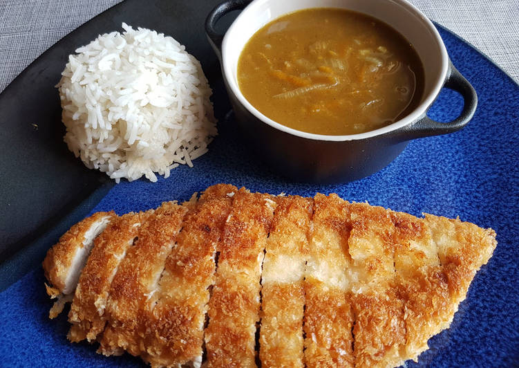 Recipe: Tasty Katsu Chicken Curry