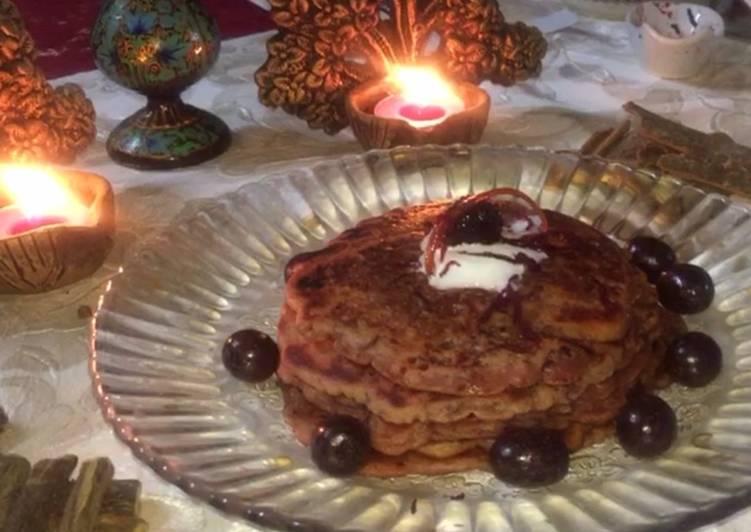 Healthy Beetroot Pancake