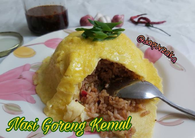 103》Nasi Goreng Kemul/ Selimut/ Egg Chiffon Cita Rasa Khas😋🤤🥰