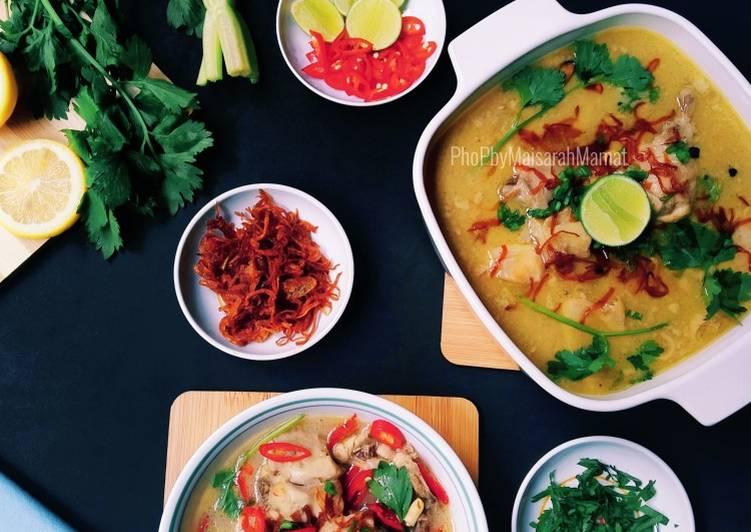 Creamy Chicken Soup - velavinkabakery.com