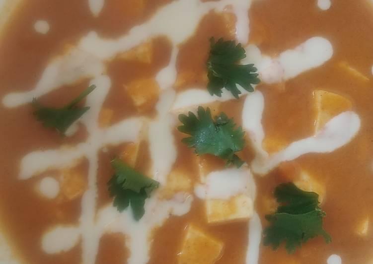 10 Minute Recipe of Fall Shahi paneer