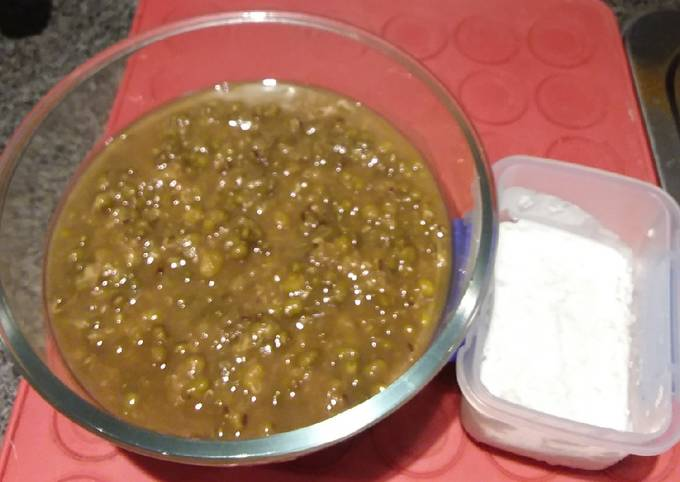 For Snack Kacang Ijo (Green Mung Bean for snack)????????Very filling