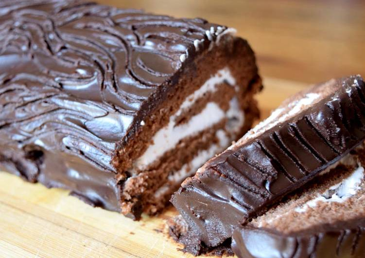30 Minute Recipe of Diet Perfect Swiss Chocolate Roll Cake