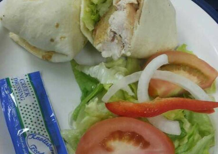 Recipe of Speedy Chicken wrap