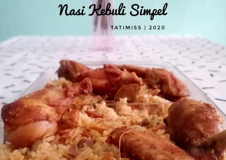 Resep Nasi Kebuli Simpel sederhana dan enak