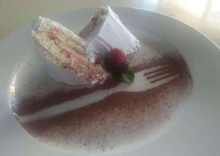 5 Minute Steps to Make Diet Perfect Vanilla swiss roll