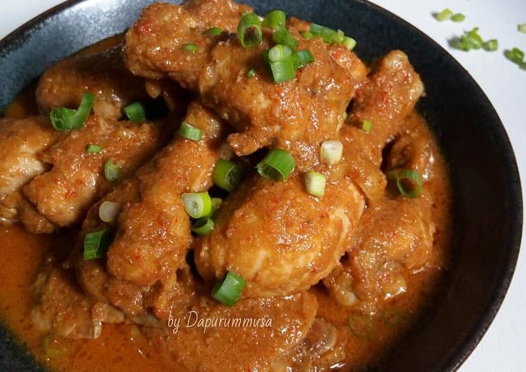 Ayam Bumbu Kacang