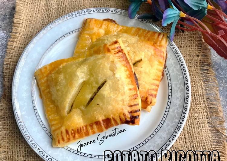 Potato Ricotta puff