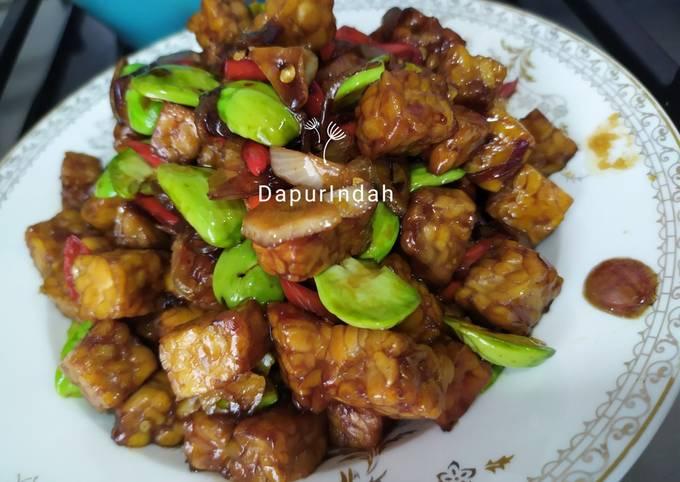sambal goreng tempe pete - resepenakbgt.com