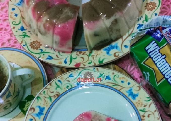 Puding Roti Wholemeal #PinkBoxCereal #Cook4Shaf