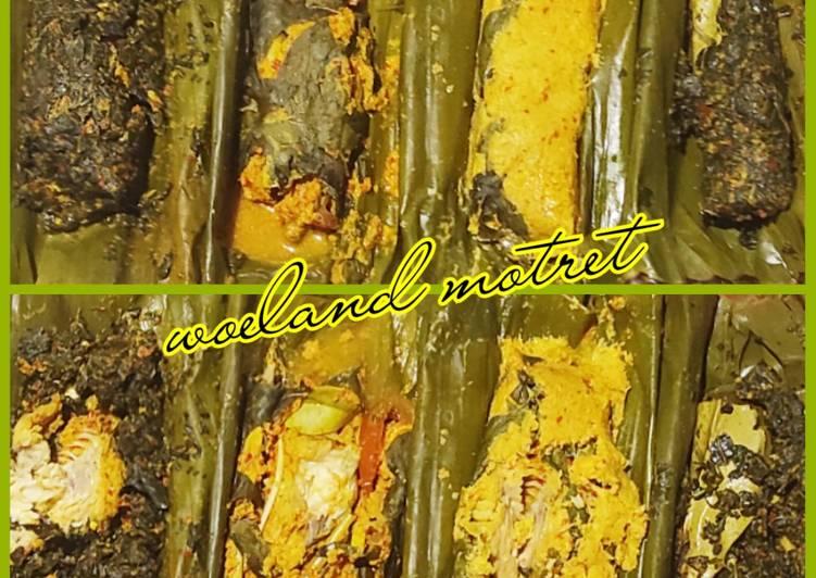Pepes Ikan Patin (1 resep 4 macam)