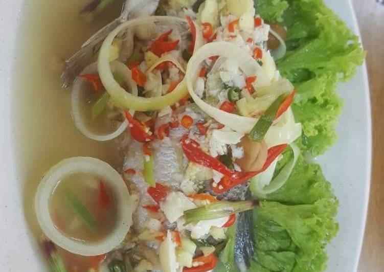 Siakap Stim ala Thai