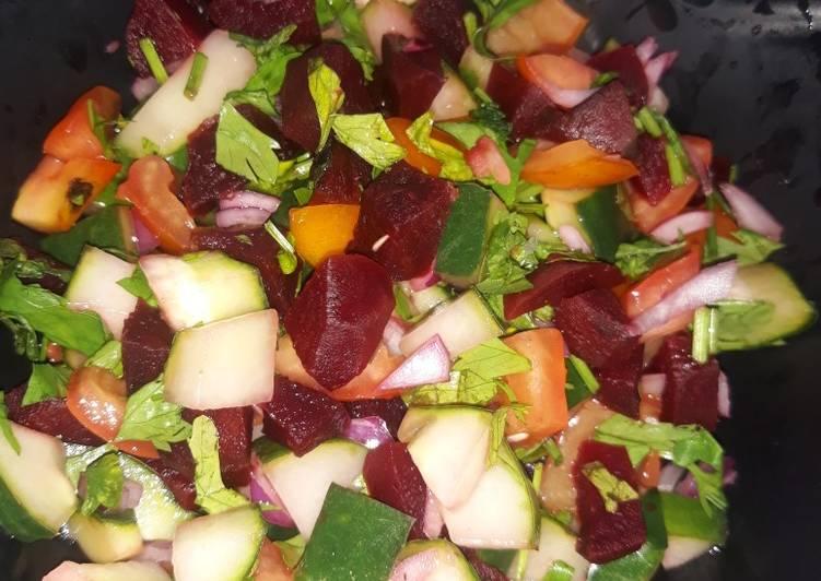 Recipe of Perfect Beetroot salad