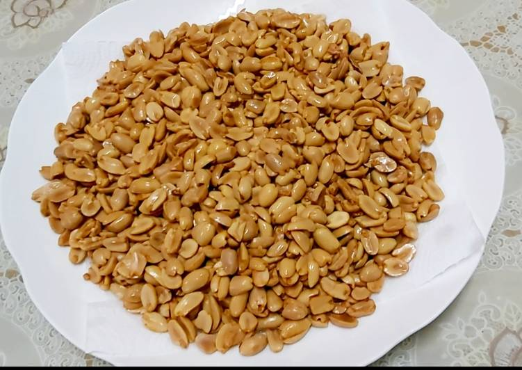 Cara Bikin Kacang Tanah Goreng (dijamin Gurih)