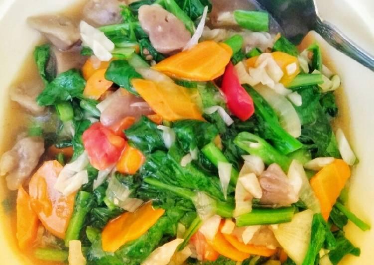 Capcay sayur antiribet