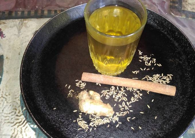 Cinnamon refreshing drink