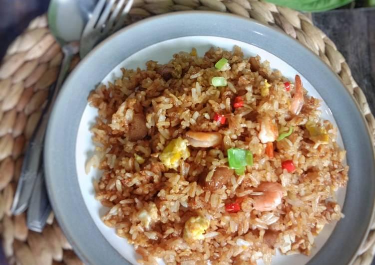 Nasi goreng seafood ala Solaria