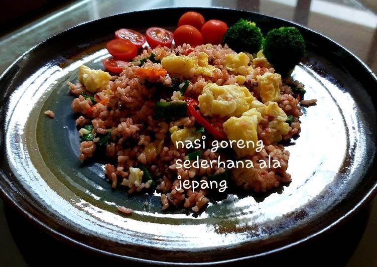 Resep Nasi Goreng Sederhana ala Jepang Paling Enak