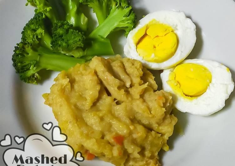 Mashed Potato pedas (Untuk Diet)