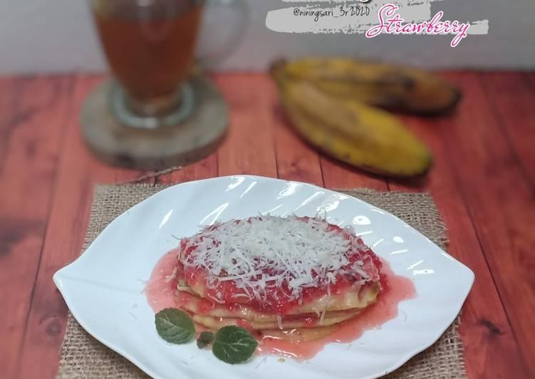 Pisang Plenet Strawberry