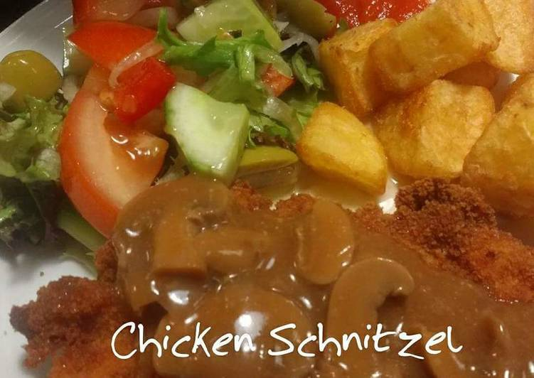 Resep Chicken Schnitzel Oleh Metha Halim Cookpad